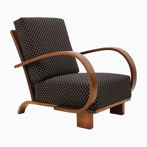 Art Deco Bentwood Armchair by Jindrich Halabala, 1930s