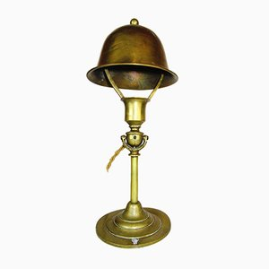 Antike anpassbare nautische Tisch- oder Wandlampe