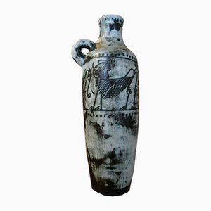 Vase Vintage en Céramique par Jacques Blin, 1950s