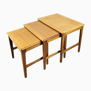 Teak Nesting Tables from Remploy, 1960s