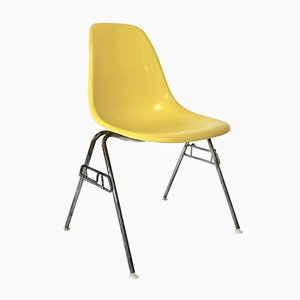 Vintage DSS Fiberglass Shell Chair by Charles & Ray Eames for Herman Miller