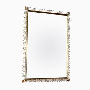 Espejo rectangular vintage de Josef Frank, años 50