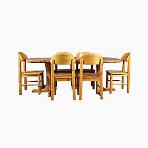 Dining Set by Rainer Daumiller for Hirtshals Sawmill, 1970s