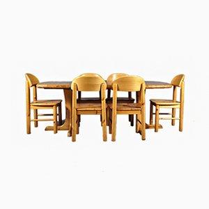 Set da pranzo di Rainer Daumiller per Hirtshals Sawmill, anni '70