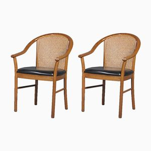Italian Armchairs from Consorzio Sedie Friuli, 1950s, Set of 2