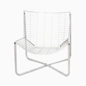 Silla Jarpen vintage de malla metálica de Niels Gammelgaard para Ikea