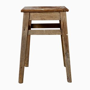 Vintage French Rustic Stool