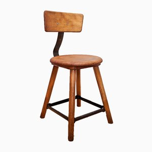 Vintage Workshop Stool from AMA