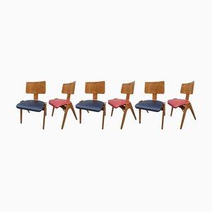 Mid-Century Hillestak Stühle von Robin & Lucienne Day, 1950er, 6er Set