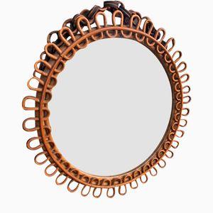 Mid-Century Mirror from Vittorio Bonacina, 1950s