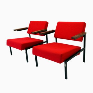 Vintage Lounge Chairs by Martin Visser for 't Spectrum, 1960s, Set of 2