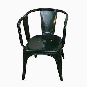 Chaise de Jardin Mid-Century par Xavier Pauchard pour Tolix, France, 1950s