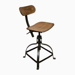 Chaise d'Atelier Vintage de Bienaise, 1940s