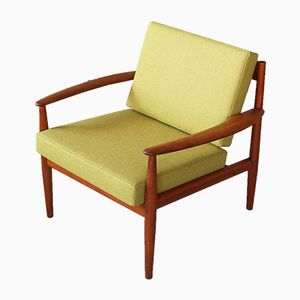 Mid-Century Danish Lounge Chair by Grete Jalk for France & Søn, 1960s