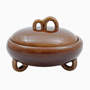 Mid-Century Polish Candy Bowl from Włocławek, 1950s