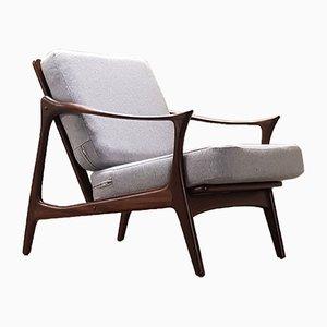 Dänischer Mid-Century Sessel aus Teak von Arne Hovmand Olsen für Mogens Kold, 1960er