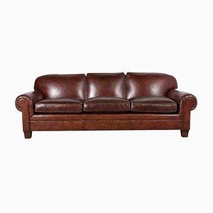 Canapé en Cuir Vintage par Ralph Lauren, 1980s