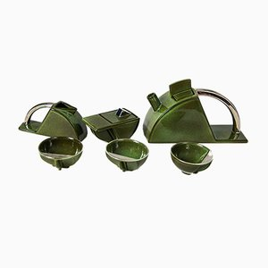 Modernist Ceramic Tea Set from Salins Studio, 1970s