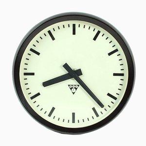 Horloge PV 301 en Bakélite de Pragotron, 1984