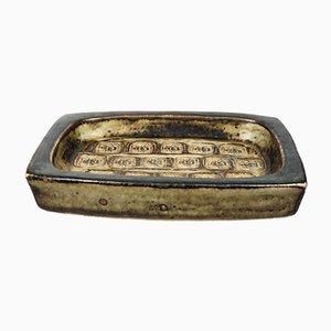 Ceramica vintage con rilievi a forma di insetto di Jørgen Mogensen per Royal Copenhagen