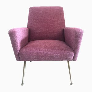 Plum Lounge Chair by Nino Zoncada for Poltrona Frau, 1950s