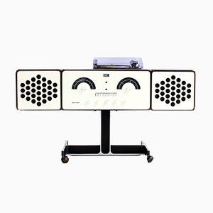 Système Audio RR126 par Castiglioni Brothers pour Brionvega, 1960s
