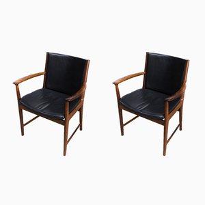 Butacas de Kai Lyngfeldt Larsen para Vejen Møbelfabrik. Juego de 2, años 60