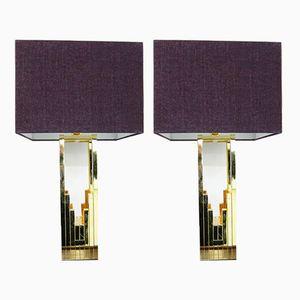 Vintage Tischlampen von Fabbian, 1970er, 2er Set