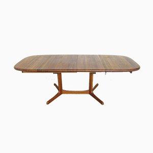 Großer ausziehbarer Esstisch aus Teak, 1970er