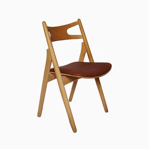 Model CH29 Sawbuck Chair by Hans J. Wegner for Carl Hansen & Søn, 1970s