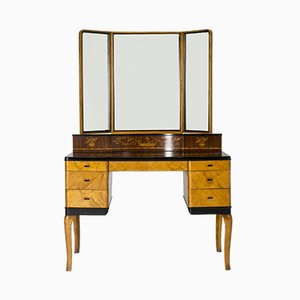 Vintage Haga Dressing Table by Carl Malmsten for Nordiska Kompaniet