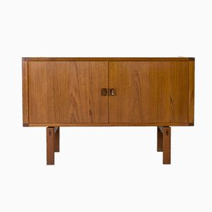Small Vintage Teak Sideboard by Lennart Bender for Ulferts Möbler