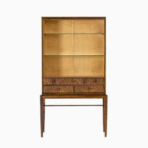 Mid-Century Rosewood Vitrine Cabinet by Svante Skogh for Säffle Möbelfabrik