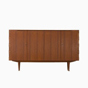 Highboard aus Teak, 1960er