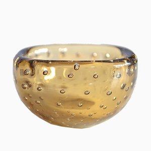 Cuenco pequeño de cristal de Murano de Carlo Scarpa para Venini, años 50