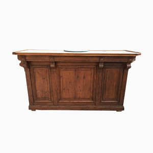 Antique Wooden Bar