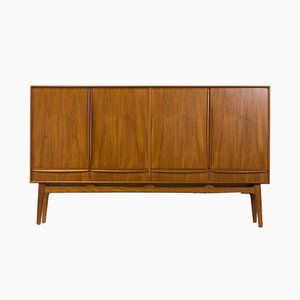 High Teak Sideboard by Svend Age Madsen for Knudsen & Son, 1950s