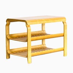Table d'Appoint en Contreplaqué de Hêtre par Alvar Aalto, 1970s