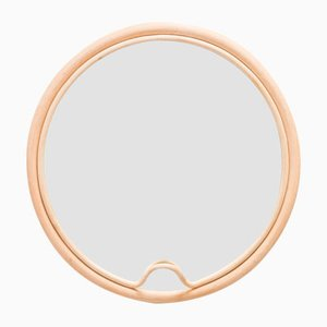 Espejo Lasso redondo de ratán de AC/AL Studio para ORCHID EDITION