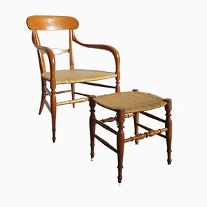 Model Campanino Armchairs from S.A.C., 1980s, Set of 2