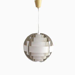 Lampe à Suspension Vintage par Flemming Brylle & Preben Jacobsen, 1970s