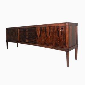 Vintage Danish Rosewood Sideboard by H W Klein for Bramin