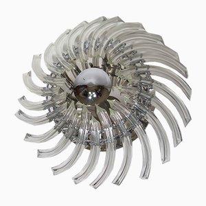 Eloise Deckenlampe mit Schirm aus Kristallglas von Shuller, 2000er