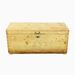 Scatola antica in legno, 1897