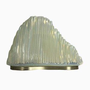 Lampada da tavolo Iceberg di Carlo Nason per Mazzega, anni '60