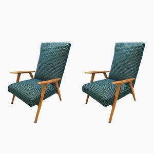Mid-Century Swedish Armchairs, 1960s, Set of 2