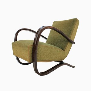 H269 Armchair by Jindrich Halabala for UP Zavody, 1940s