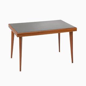 Table Basse Vintage en Orme & Verre Opaxit