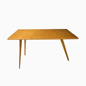 Italian Tripod Beech Table, 1960s
