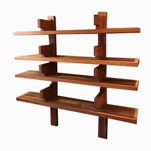 Modell B17A Bücherregal aus Ulmenholz von Pierre Chapo, 1960er